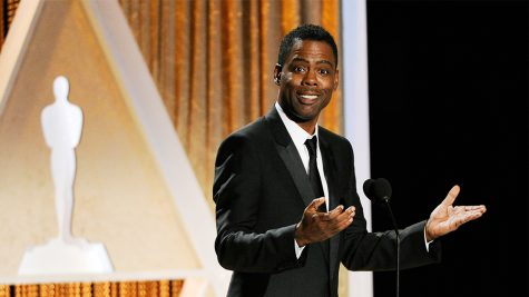 Actor/comedian Chris Rock addresses the audience during the 2014 Governors Awards on Saturday, Nov. 8, 2014, in Los Angeles. (Photo by Chris Pizzello/Invision/AP)