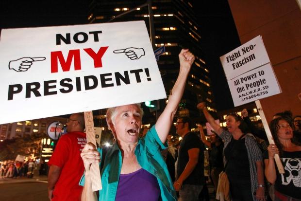 Election Protests Sweep Across Santa Cruz and Bay Area