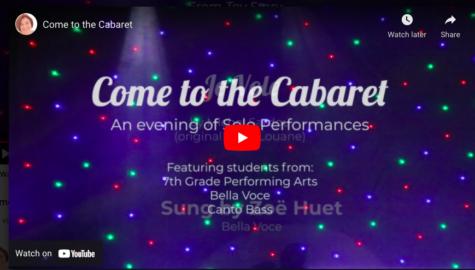 Choir Classes Create Virtual Cabaret!