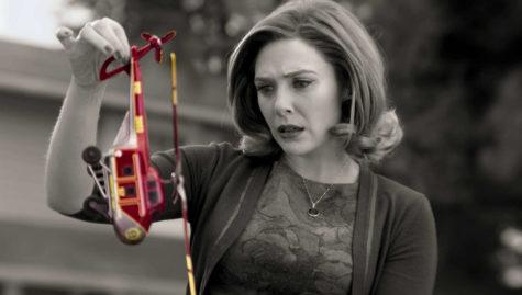 Elizabeth Olsen as Wanda Maximoff in Marvel Studios
